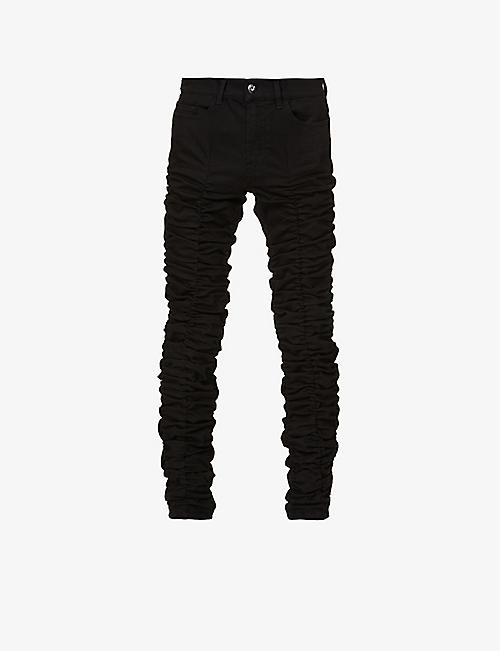 MJB - MARC JACQUES BURTON: Stack tapered stretch-denim jeans