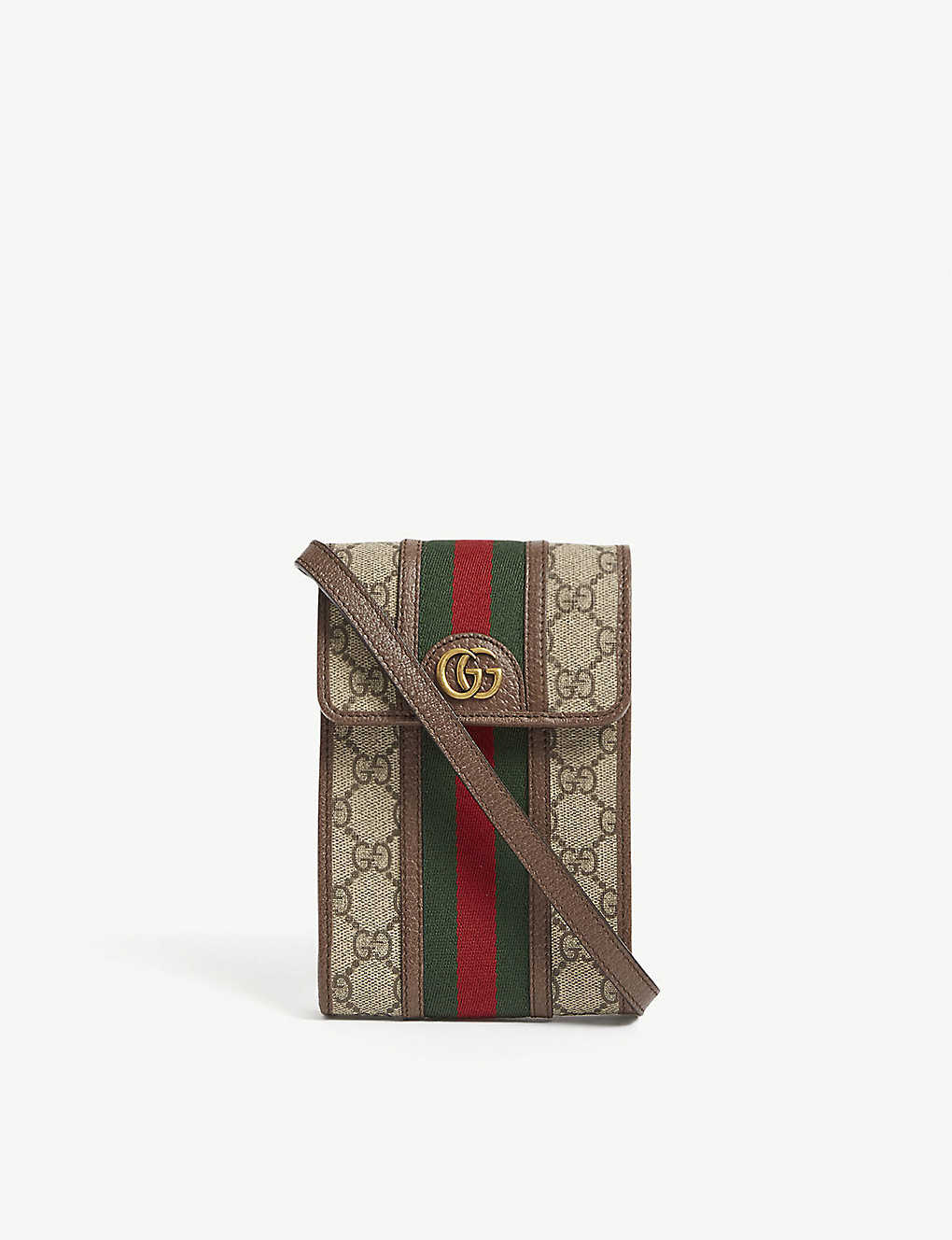 GUCCI: GG Ophidia phone canvas cross-body wallet