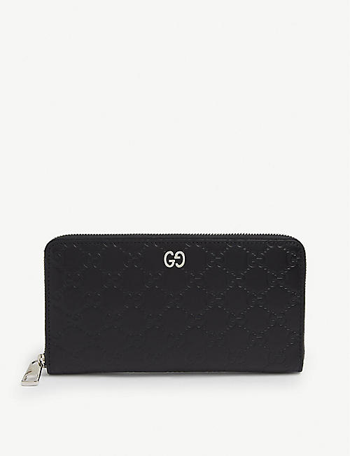 GUCCI: GG Dorian continental leather wallet