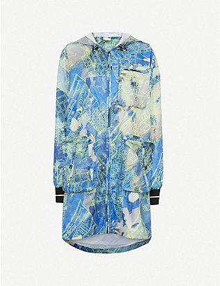 PUMA: Graphic-print woven jacket