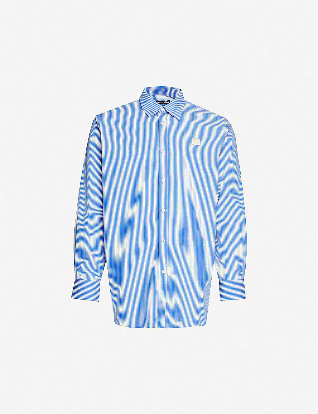 ACNE STUDIOS: Saco cotton-poplin shirt