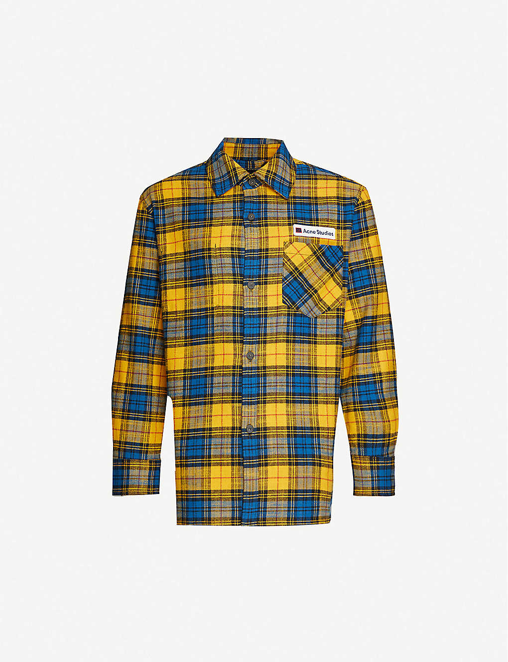 ACNE STUDIOS: Salak plaid cotton shirt