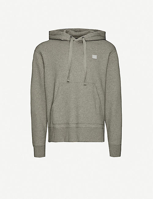 ACNE STUDIOS: Ferris Face brand-patch cotton-jersey hoody
