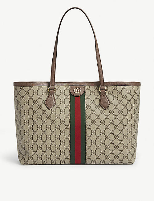 GUCCI: Ophidia medium GG Supreme canvas tote bag