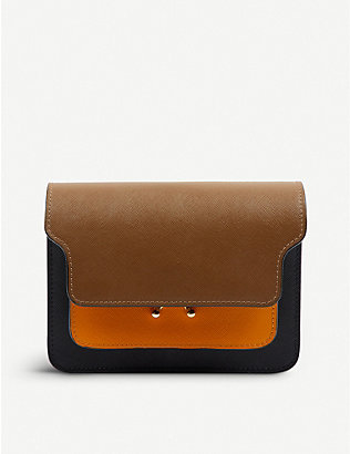 VESTIAIRE COLLECTIVE: Marni Trunk leather cross-body bag