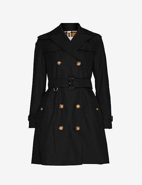 BURBERRY: Islington cotton-twill trench coat
