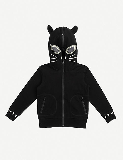 STELLA MCCARTNEY: Cat cotton hoody 4-14 years
