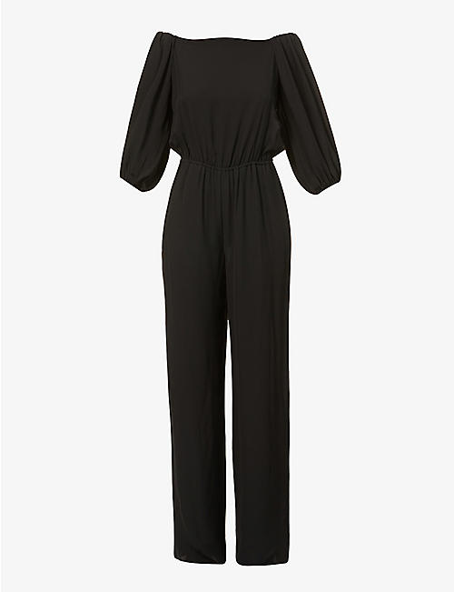THEORY: Classic silk jumpsuit