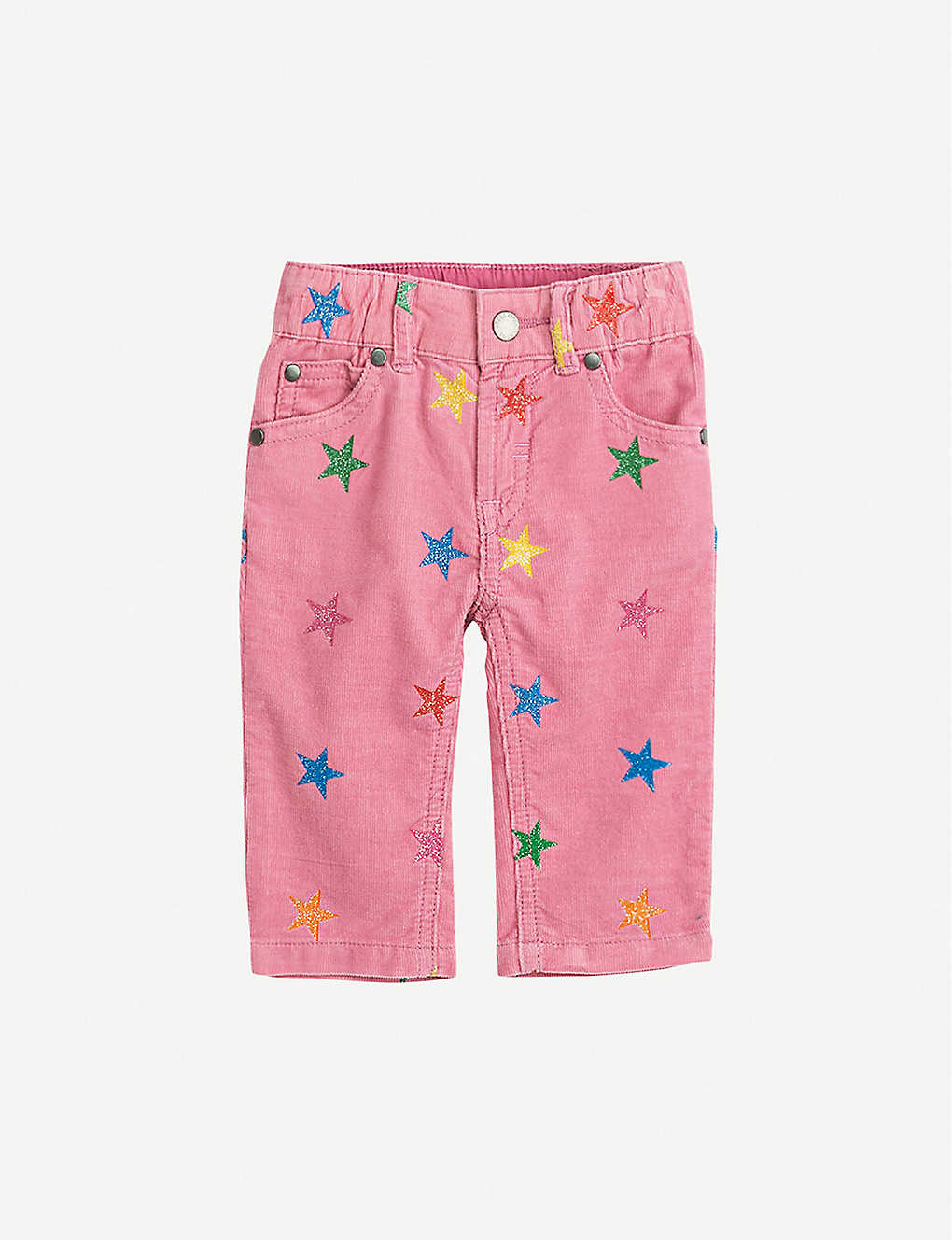 STELLA MCCARTNEY: Star-print corduroy trousers 6-36 months