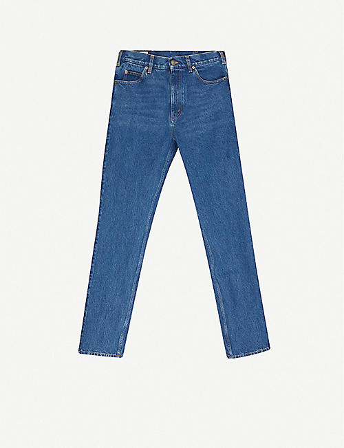 GUCCI: Tapered straight jeans