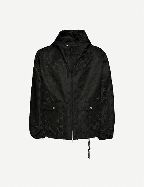 GUCCI: Gucci Off The Grid monogram-print recycled-shell jacket