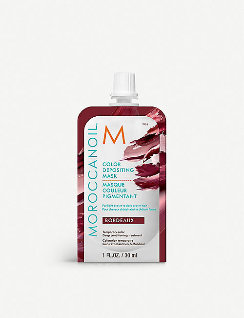 MOROCCANOIL: Bordeaux colour depositing hair mask 30ml