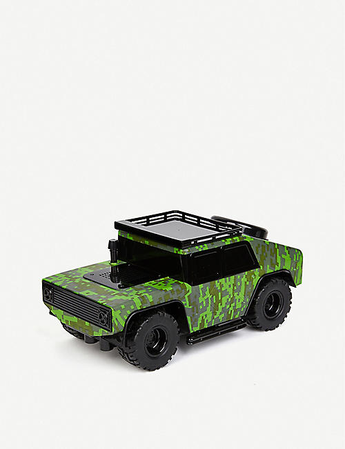 BUILD YOUR OWN RC FAO Schwarz Peacekeeper Army camo-print shell remote-control car