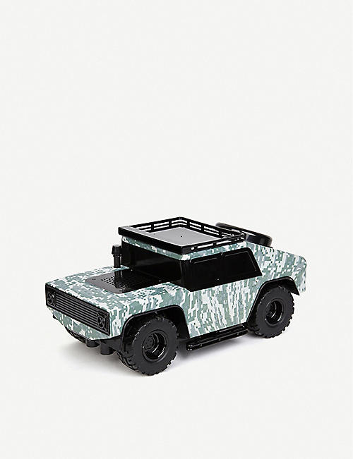 BUILD YOUR OWN RC FAO Schwarz Peacekeeper Desert camo-print shell remote-control car