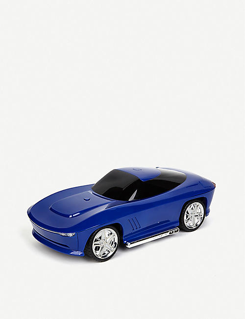 BUILD YOUR OWN RC FAO Schwarz Smokey blue shell remote-control car