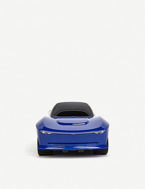 BUILD YOUR OWN RC: FAO Schwarz Smokey blue shell remote-control car