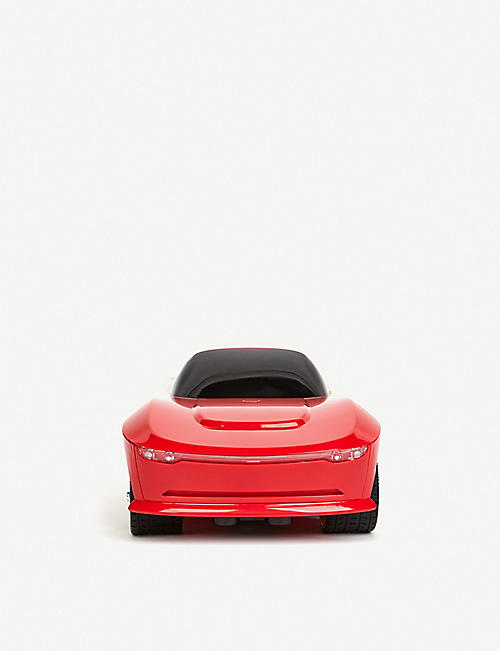 BUILD YOUR OWN RC: FAO Schwarz Smokey red shell remote-control car