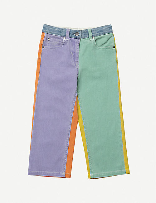 STELLA MCCARTNEY: Colour-blocked jeans 4-16 years