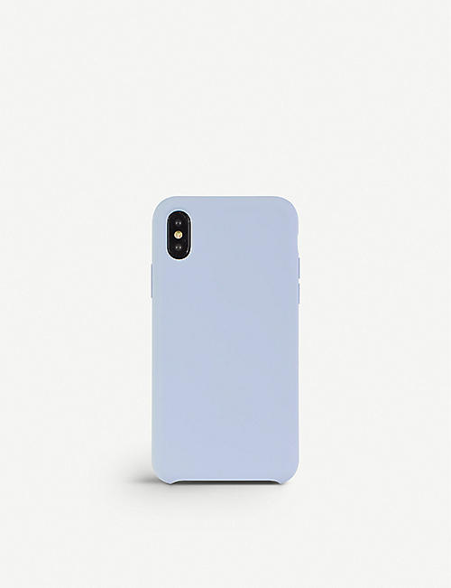 MINTAPPLE: Premium silicone iPhone X case