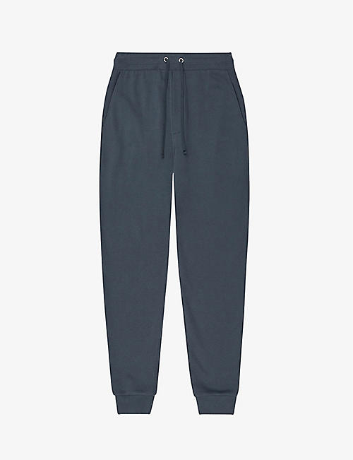REISS: Bemish cotton jogging bottoms