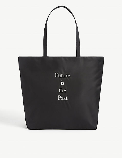 UNDERCOVER: Future nylon tote bag