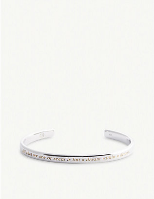 UNDERCOVER: Dream sterling silver bangle