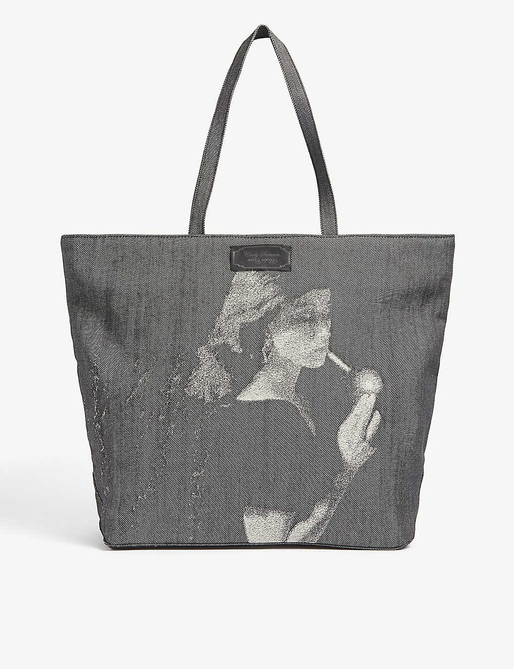 UNDERCOVER: Smoking Lady graphic-print cotton tote