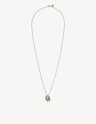UNDERCOVER: Cindy Sherman sterling silver pendant necklace