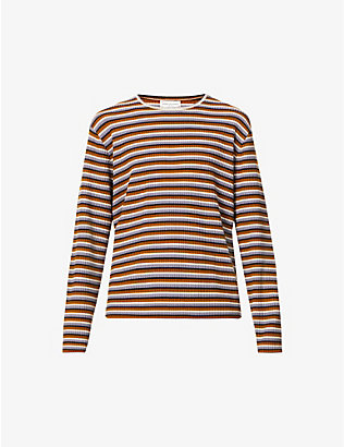 DRIES VAN NOTEN: Maarten striped wool jumper