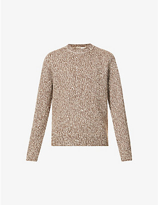 DRIES VAN NOTEN: Mijou crewneck wool jumper
