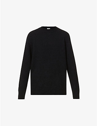 DRIES VAN NOTEN: Marvyn crewneck wool-blend jumper