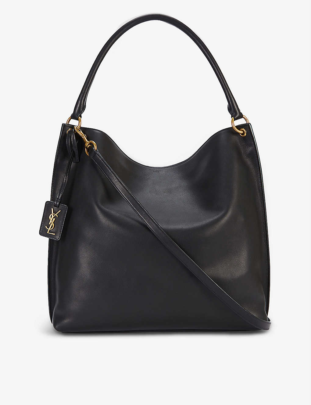 SAINT LAURENT: Leather hobo bag