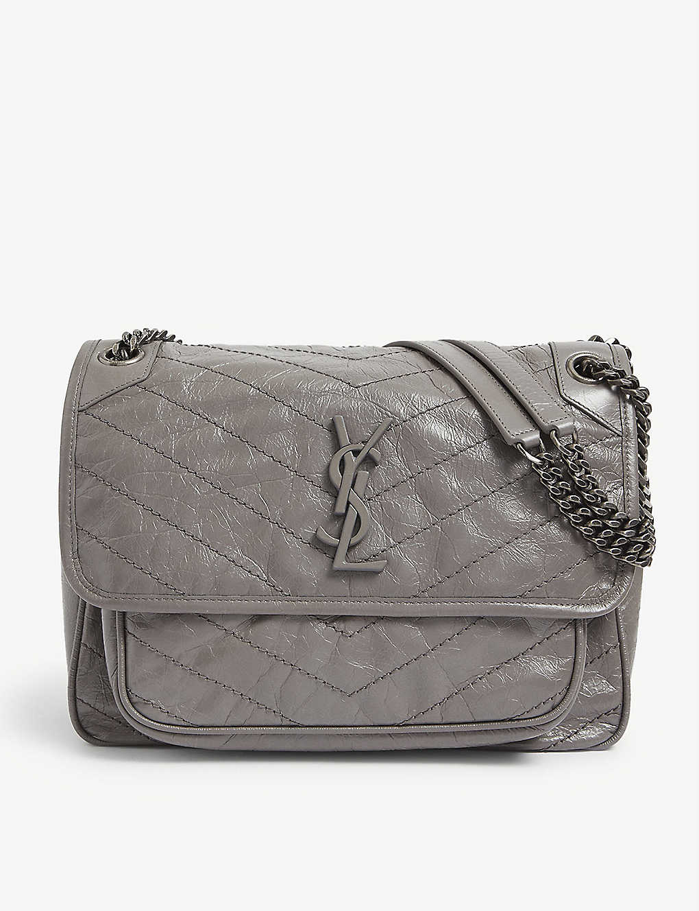 SAINT LAURENT: Niki medium leather shoulder bag