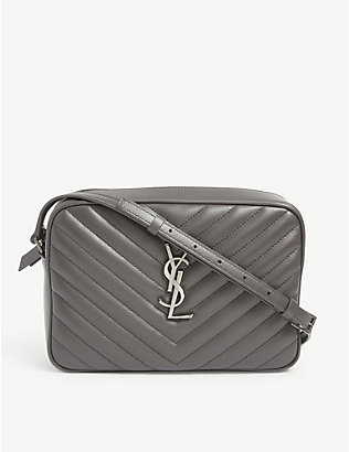 SAINT LAURENT: Lou leather camera bag