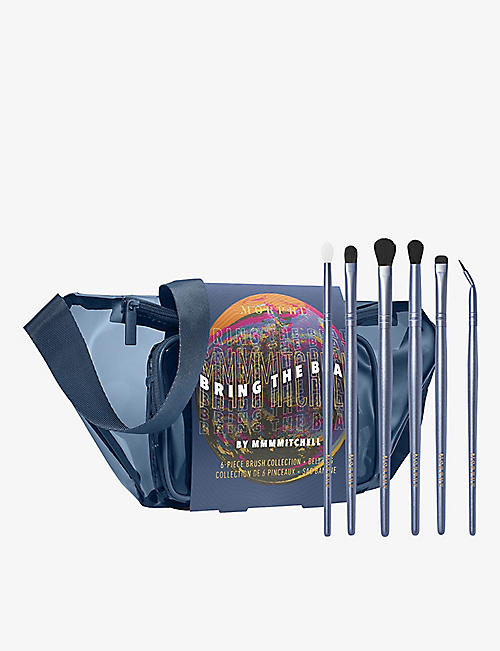 MORPHE: Bring The Beat By Mmmmitchell 6-piece brush collection and belt bag