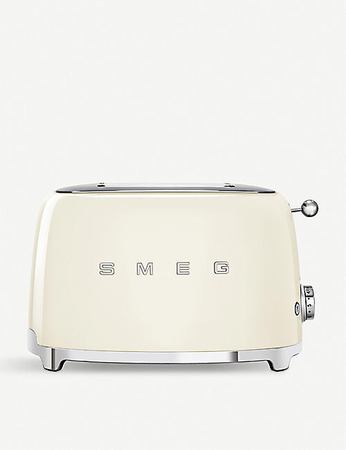 SMEG: Two-slice stainless steel toaster