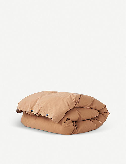 TEKLA: Organic-cotton duvet cover