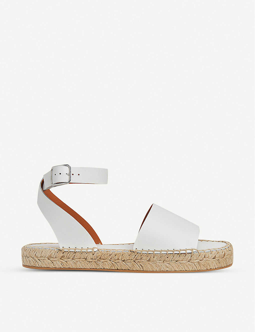WHISTLES: Lula leather espadrille sandals