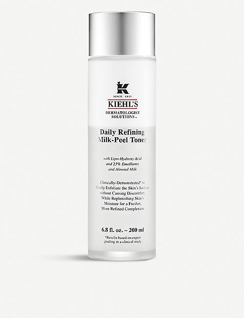 KIEHL'S: Daily Refining Milk-Peel Toner 200ml