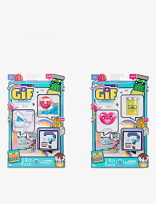 POCKET MONEY: Oh! My Gif assorted play set