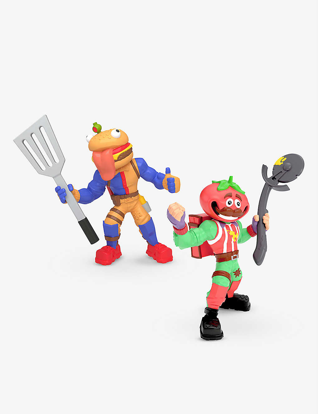 POCKET MONEY: Fortnite 2 Tomatohead and Beef Boss figures 19cm