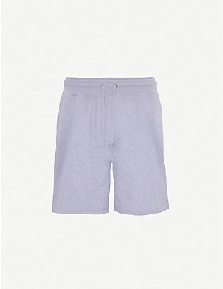 COLORFUL STANDARD: Organic cotton-jersey jogging shorts