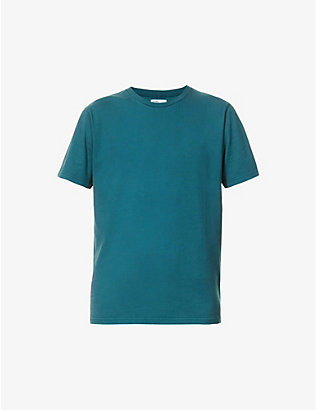 COLORFUL STANDARD: Crewneck organic cotton-jersey T-shirt