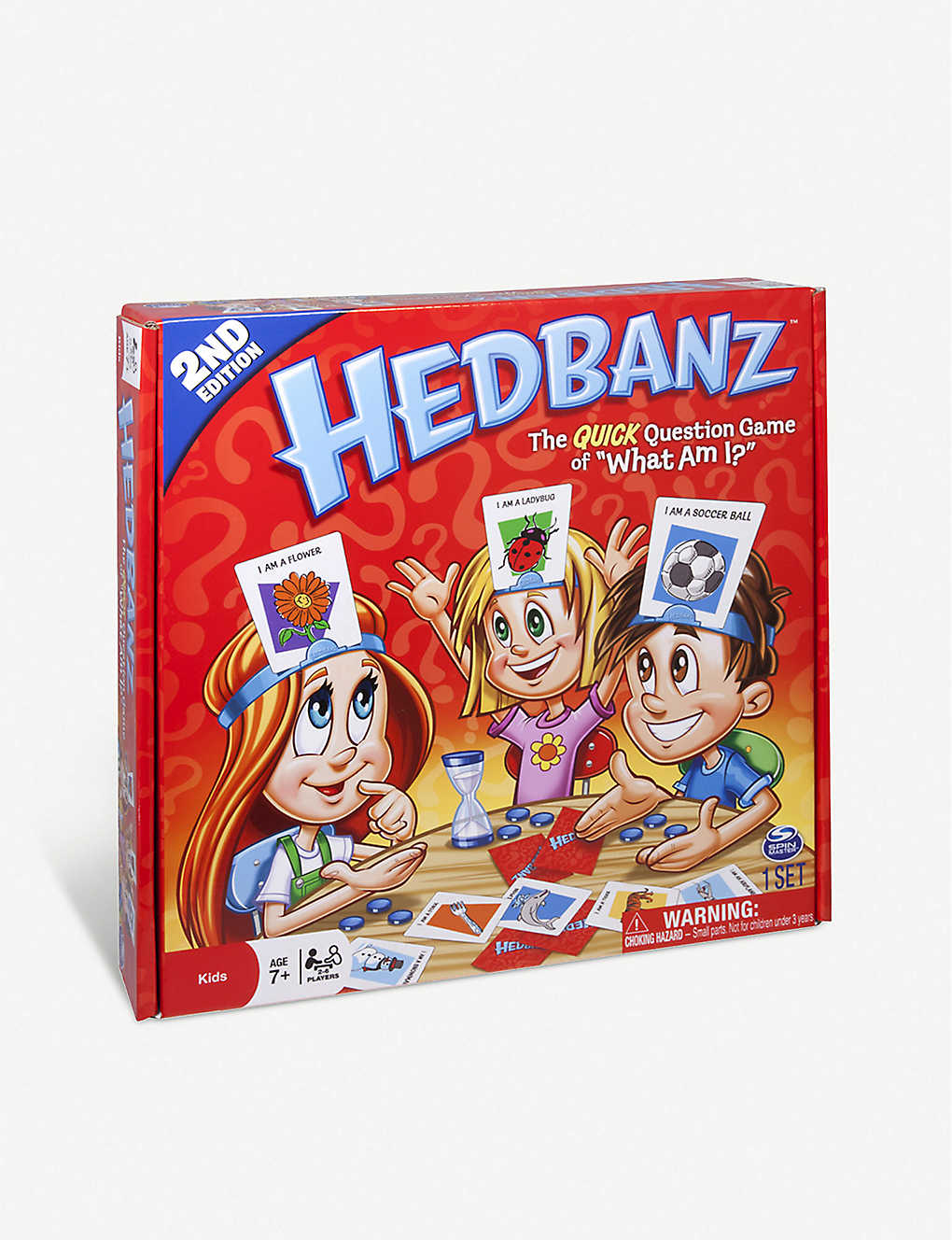 BOARD GAMES: Spin Master International Hedbanz Family board game