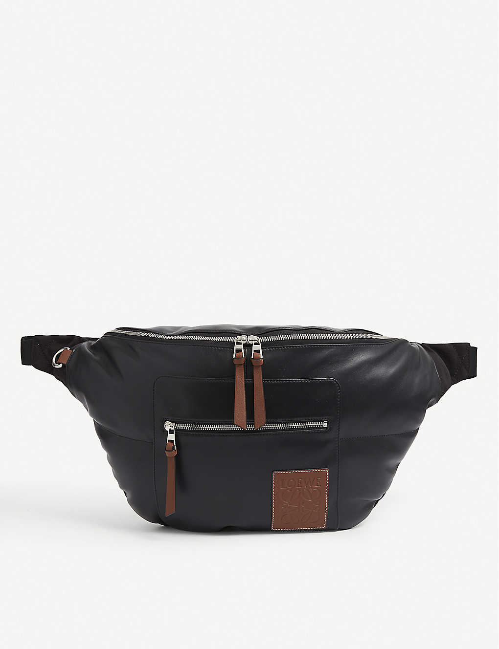 LOEWE: Puffy XL leather belt bag