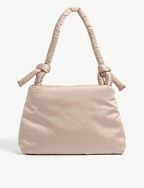 KASSL EDITIONS: Lady satin shoulder bag