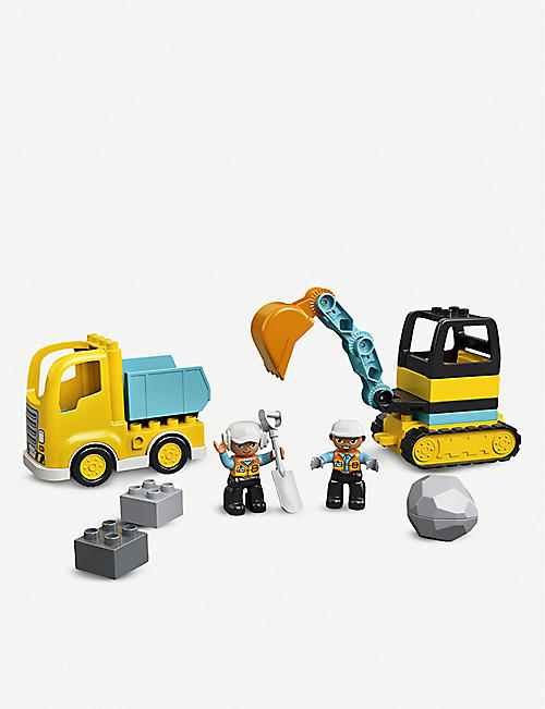 LEGO DUPLO® 10931 Truck and Tracked Excavator set