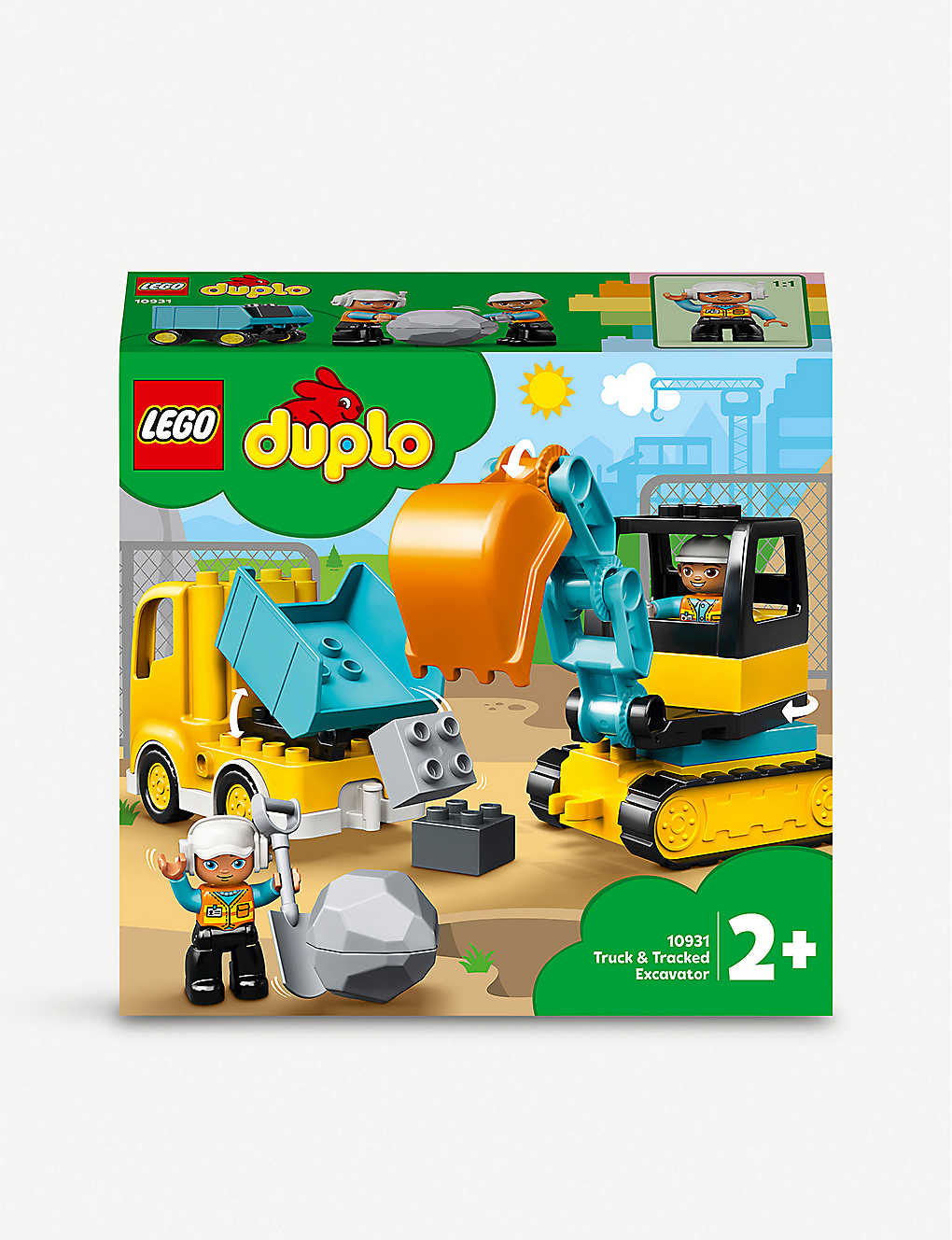 LEGO: DUPLO® 10931 Truck and Tracked Excavator set