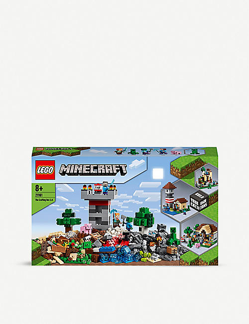 LEGO: LEGO® Minecraft 21161 The Crafting Box 3.0 set