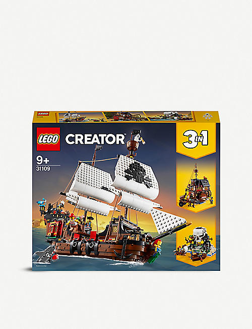 LEGO: LEGO® 31109 3-in-1 pirate ship set